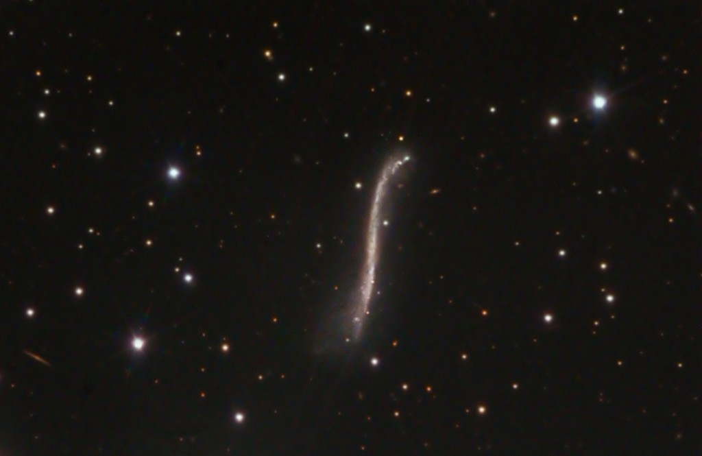 Pencil Galaxy – UGC3697 in CAM