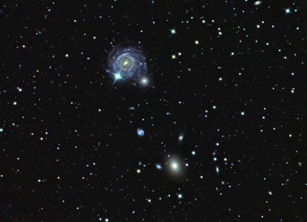 IC0983 (Arp 117) in BOO