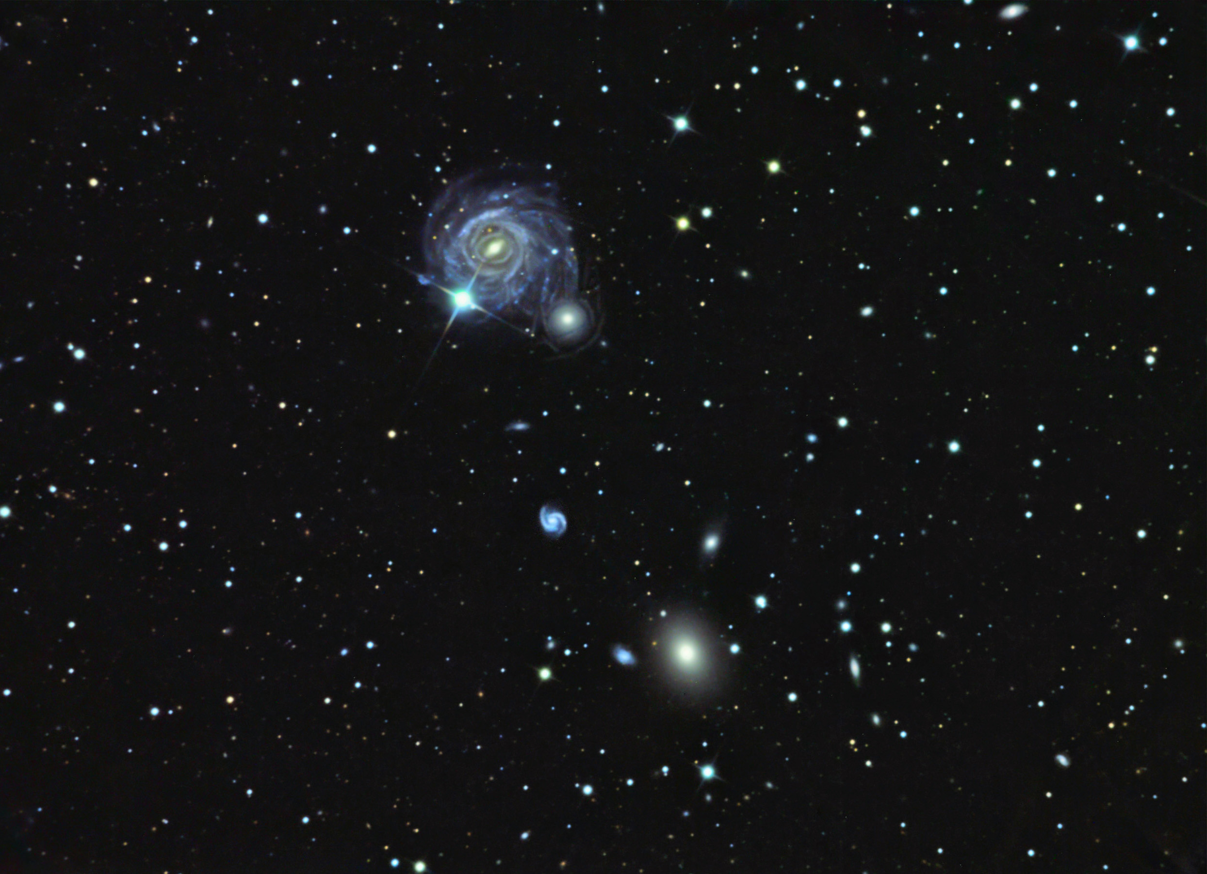 IC0983 (Arp 117) in BOO