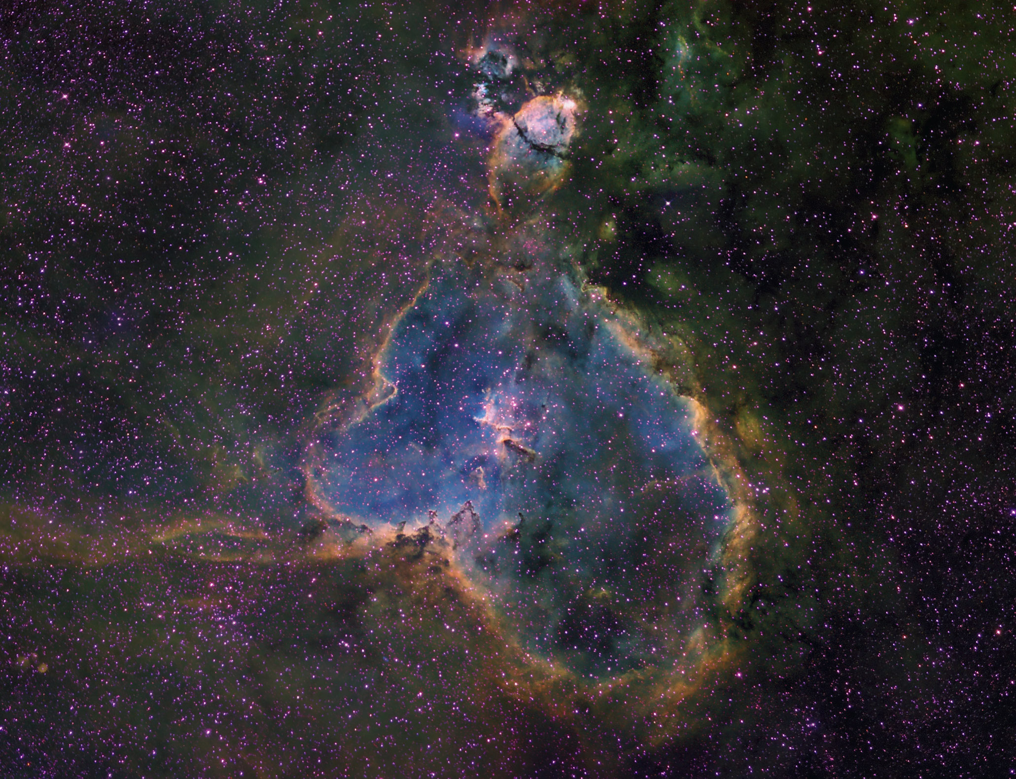 IC1805, The Heart Nebula