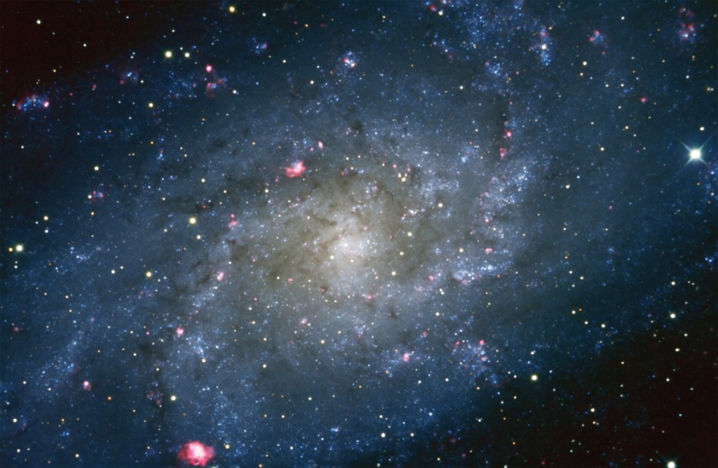 M33 with H-a