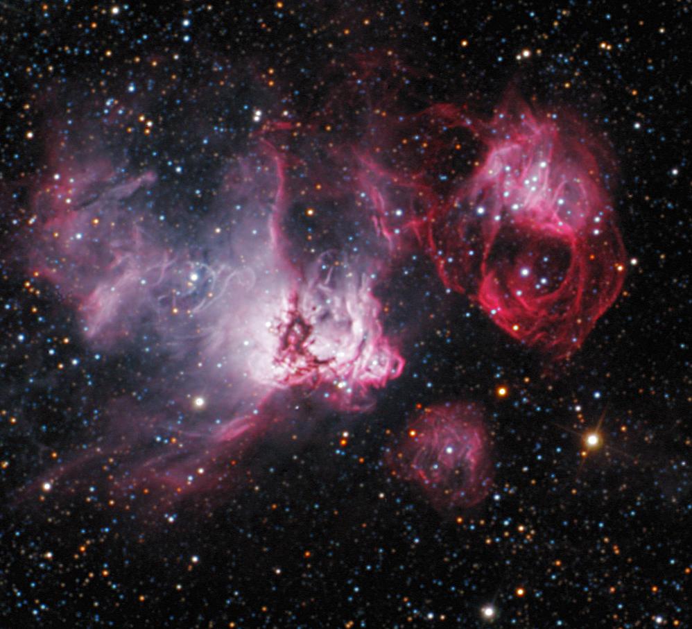 NGC2035 (N59) in DOR (LMC)