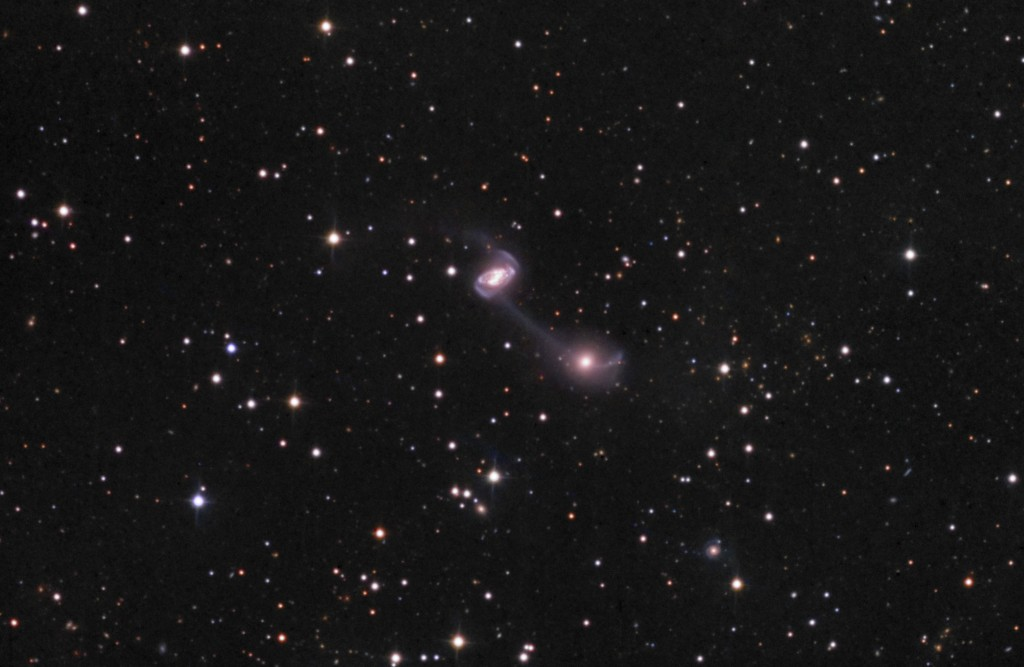 NGC5218 and NGC5216 – Galactic Yo-Yo