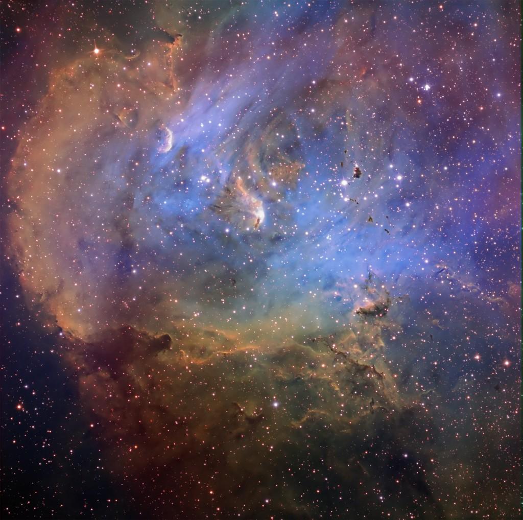 IC2944 and Thackeray's Globules