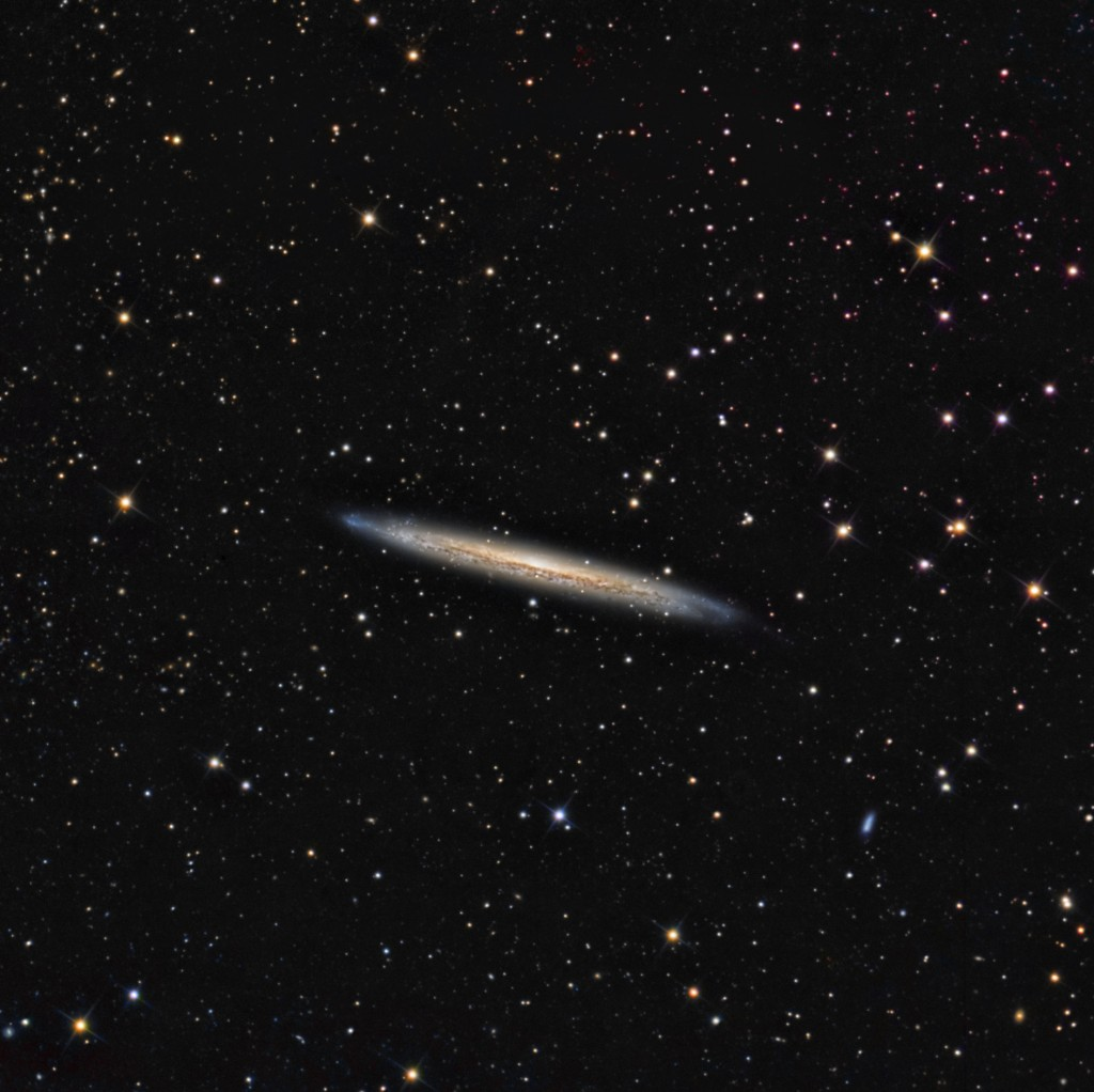 NGC 5907 The Splinter Galaxy