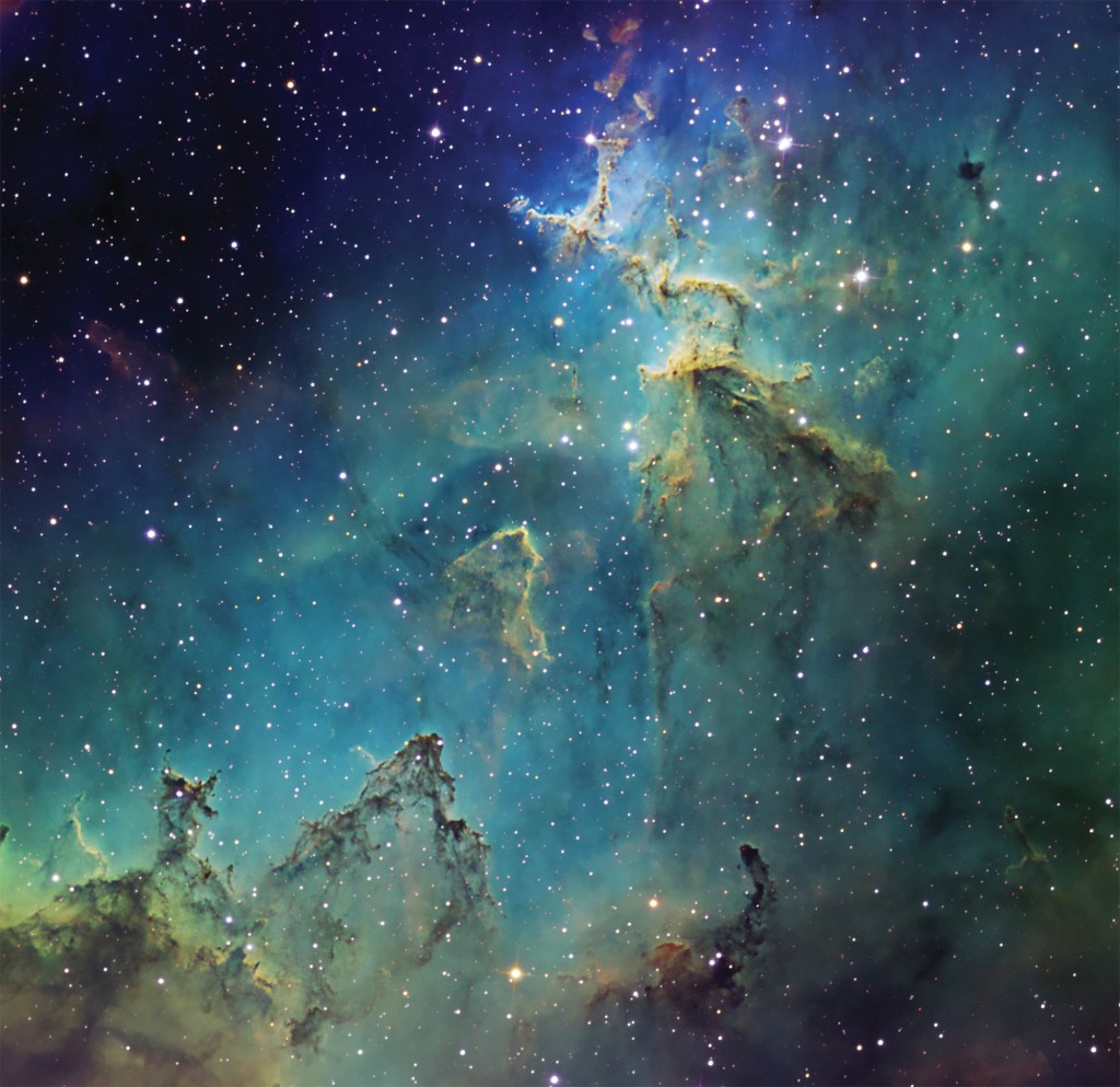 Melotte 15 in Heart Nebula