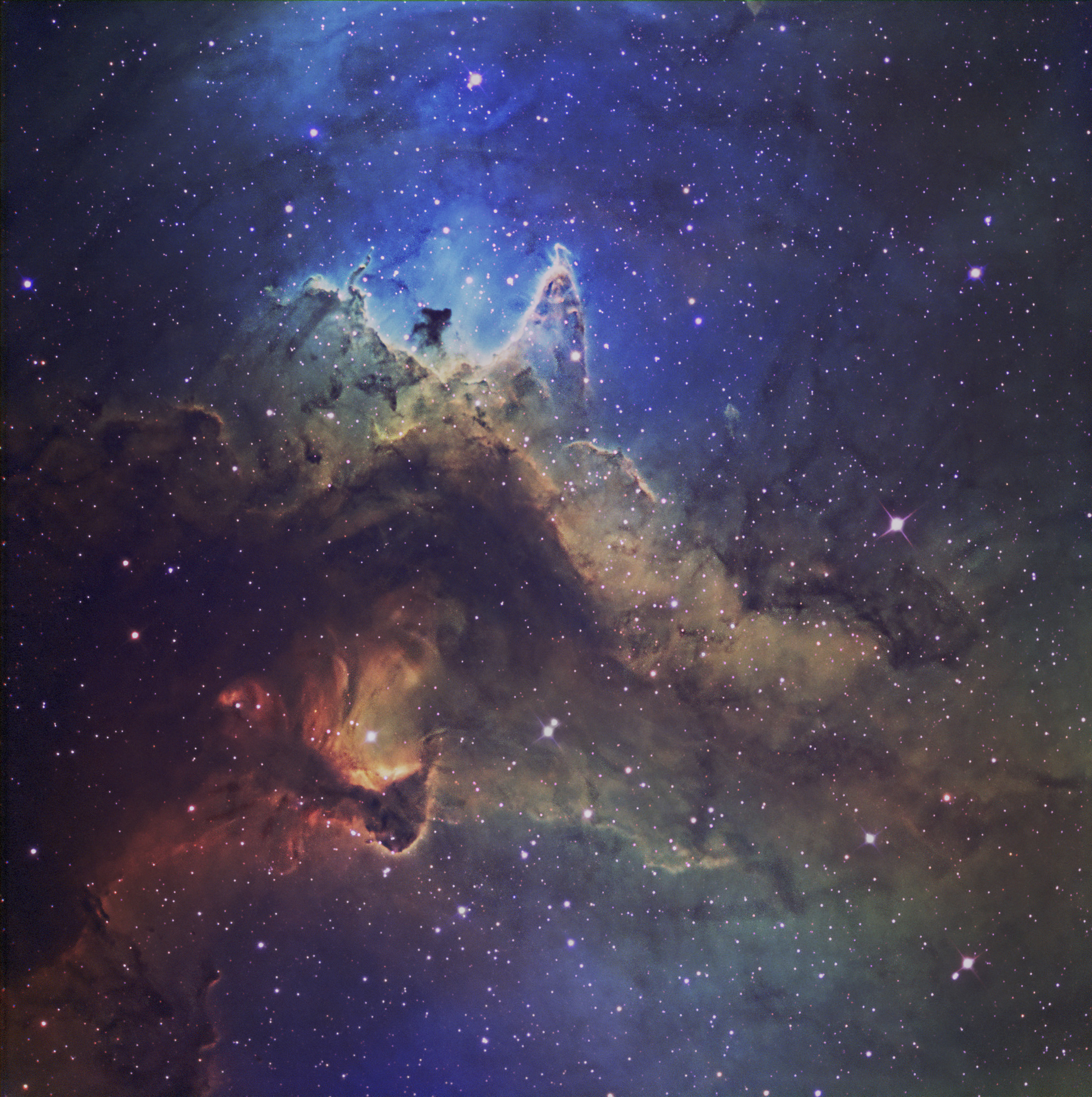 IC 1848  Narrowband