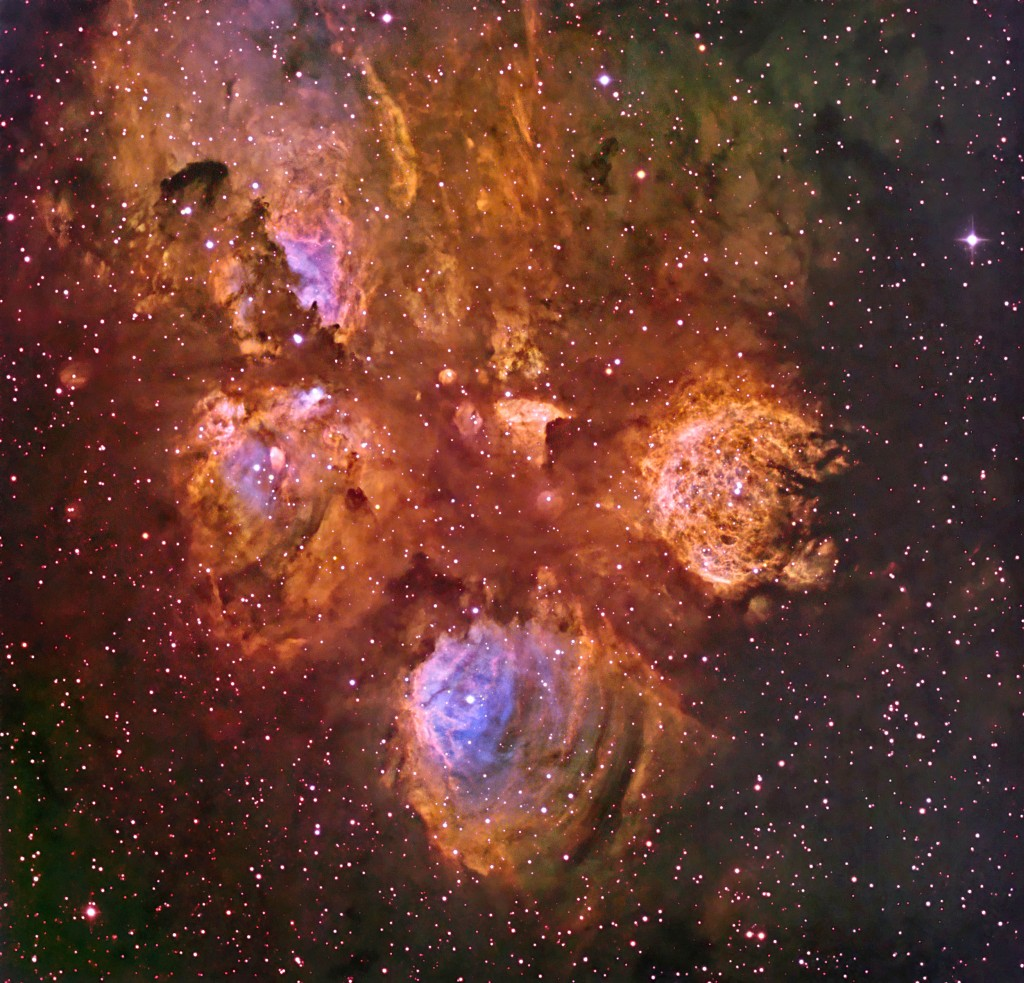 NGC 6334 Cat's Paw Nebula