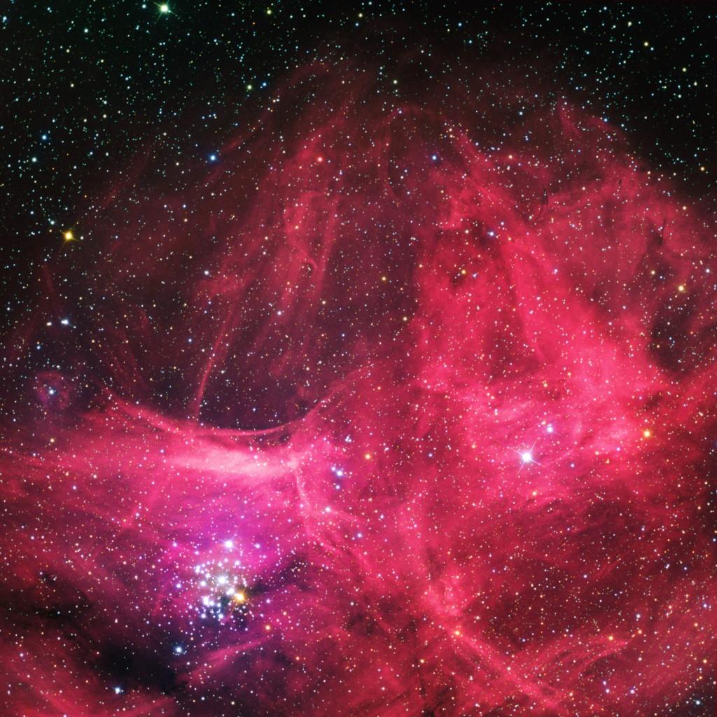 Gem Cluster  NGC 3293