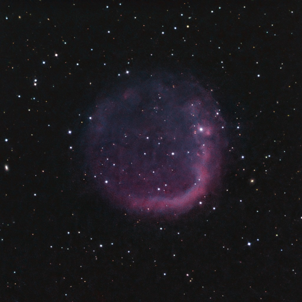 EGB 6 Faint Planetary Nebula in Leo