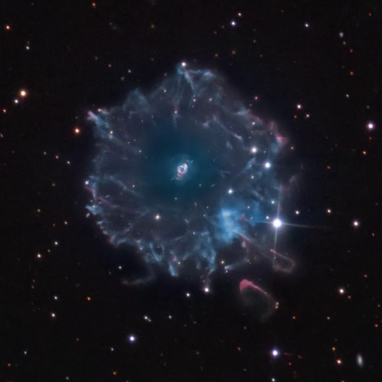 Cat S Eye Nebula Imaging