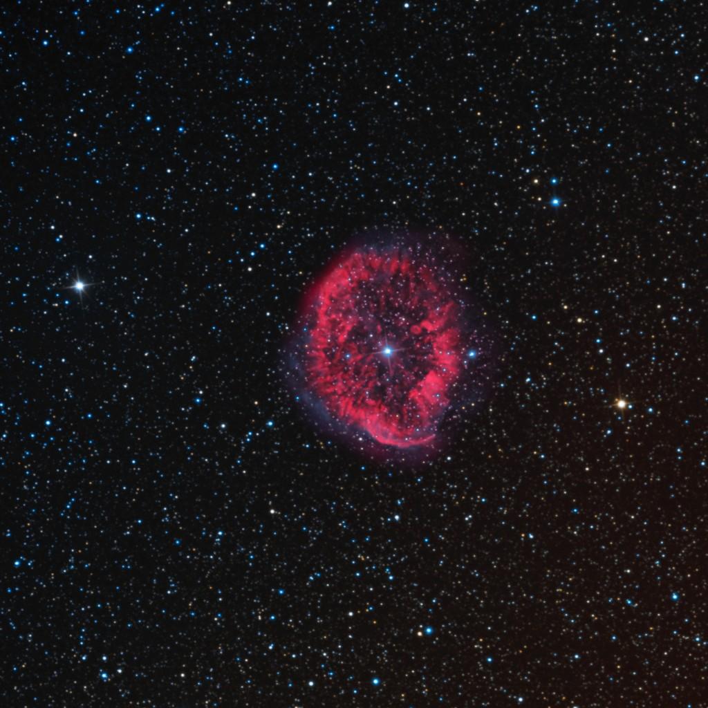 RCW 58 Ring Nebula in Carina