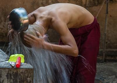 Final Rinse, Bagan, Myanmar