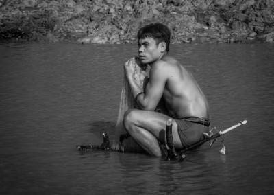 Fisherman, Cambodia