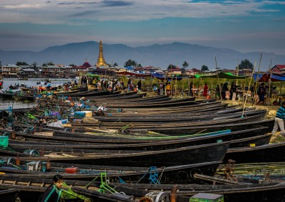 Market At Inle Lake, Myanmar