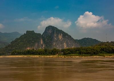 Mekong River Near Pak Ou, Laos
