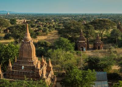 Shwesandaw Panorama,Bagan, Myanmar