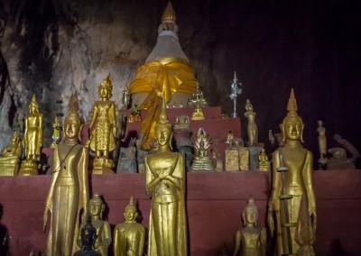 Upper Pak Ou Cave, Laos