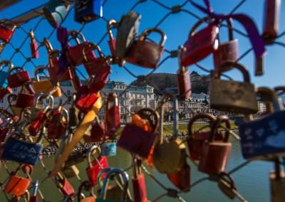 Bridge Locks, Salzburg