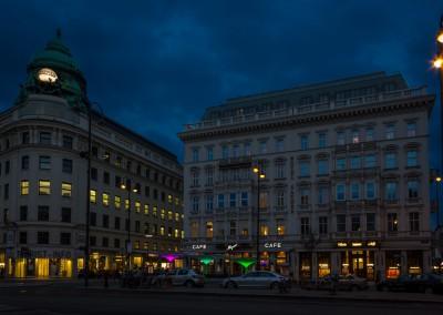 Cafe Mozart Near Hofburg Palace, Vienna
