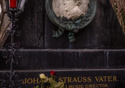 Strauss Grave,  Central Cemetary, Vienna
