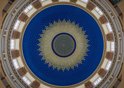 Central Cemetary Chapel Ceiling, Vienna