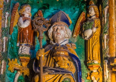Ceramic Inside Salzburg Castle