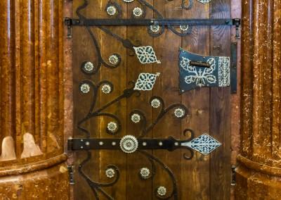 Door, Salzburg Castle