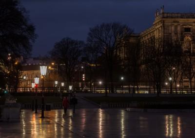 Night Stroll Near Hofburg Palace, Vienna