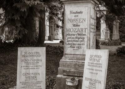 Mozart Family Graves, Salzburg