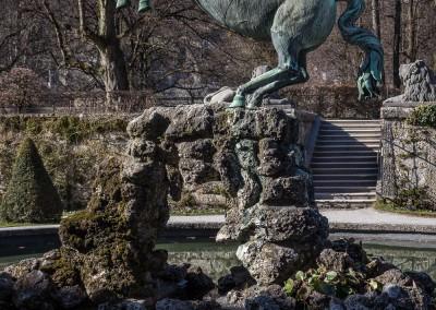 Pegasus Statue Mirabel Palace, Salzburg