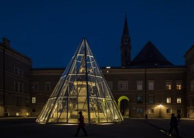 Plaza At Night, Salzburg