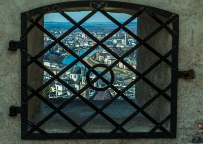 Salzburg View From Castle