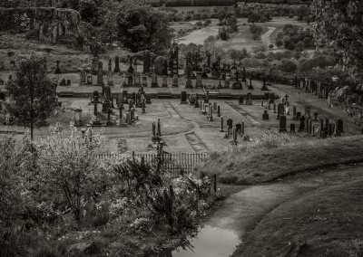 Cemetary From Stirling Castle Glasgow