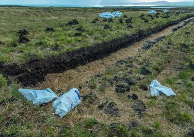 Digging Peat, Islay