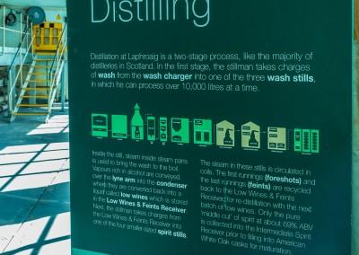 LaPhroaig Distillation Explained