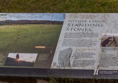 Nether Largie Standing Stones Near Kilmartin