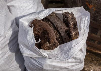 Peat Used At Kilchoman, Islay