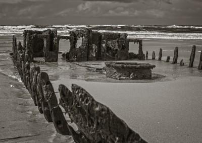 Shipwreck Near Machrie, Islay