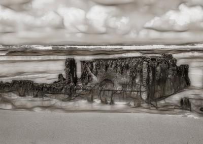 Surrealistic Shipwreck Near Machrie, Islay