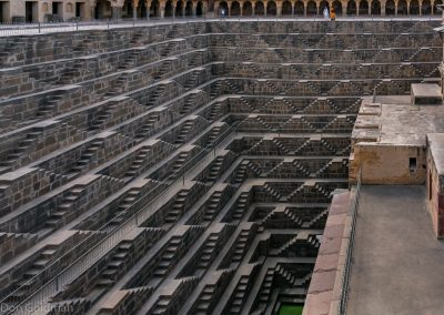 Scale of Chand Bawri Step Well