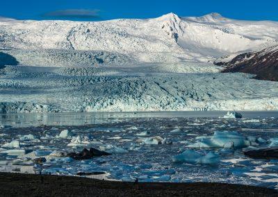 Fjallsarlon Glacier