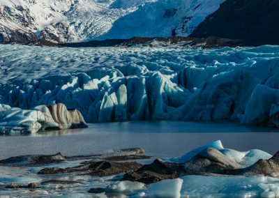 Svinafellsjokull Glacial Lagoon