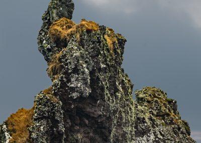 Rock Structure Near Djupalonssandur Beach