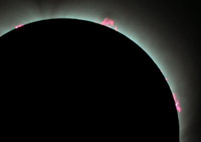 Prominences Close Up