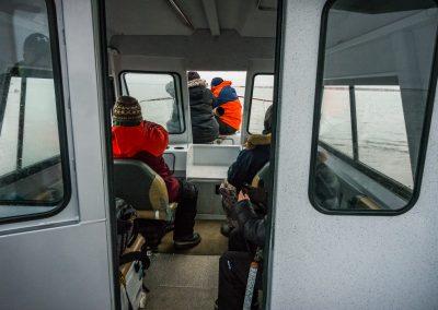 Going Into Kaktovik Lagoon