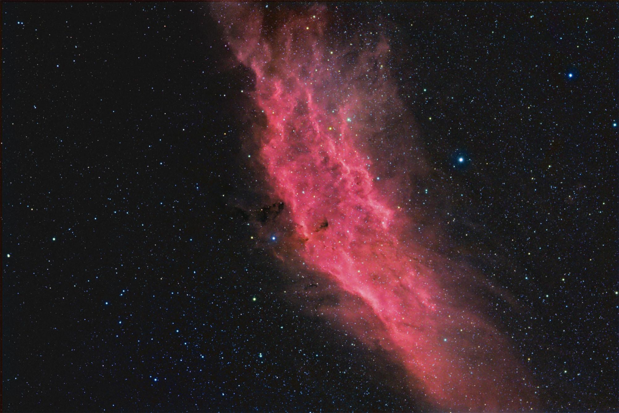 California Nebula HaRGB