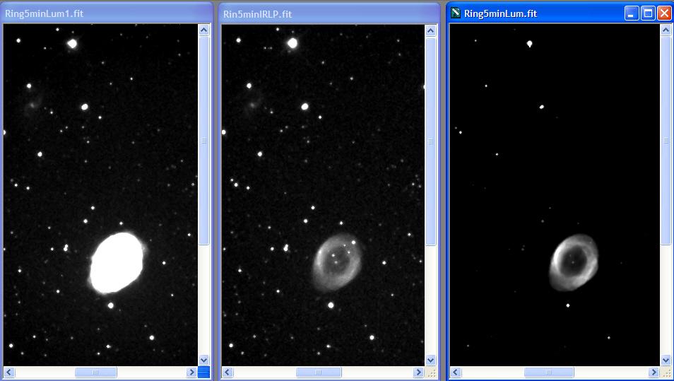 M57 in VIS and NIR