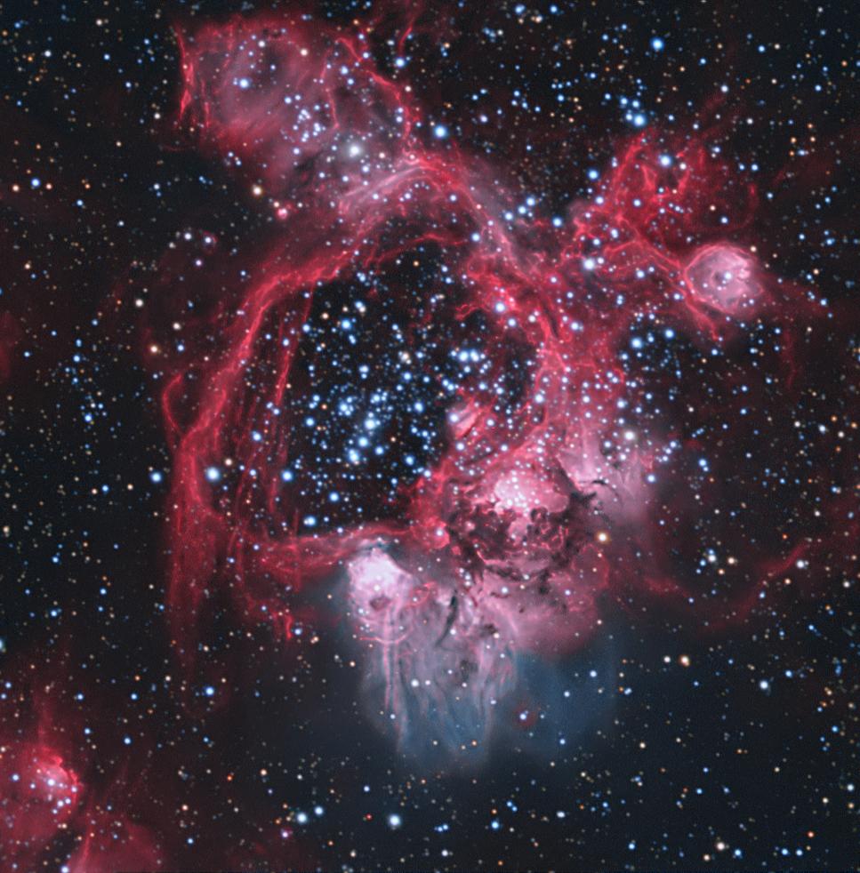 N44 Superbubble in LMC