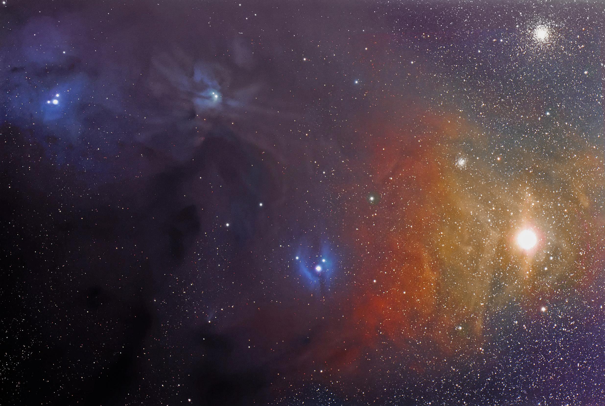 Rho Ophiuchi Nebula